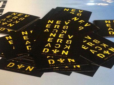 """NeverBackDown"" Sticker main photo"