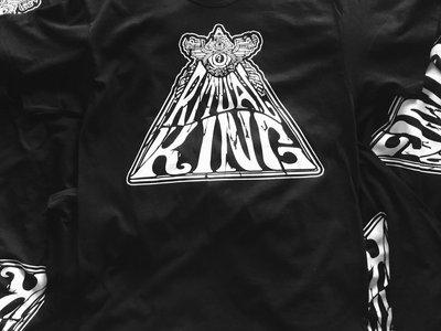 White Eyed Pyramid Men's Tee - Black main photo