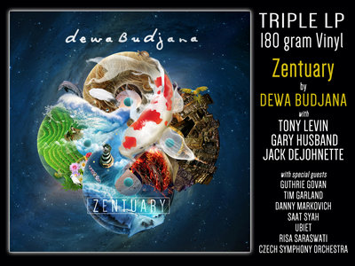"DEWA BUDJANA ""Zentuary"" (3LP - 180grams vinyl) main photo"