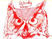 Weirdly Warm Owl T-shirt photo