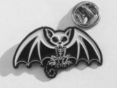 Sphynx Cat Gargoyle Pin photo