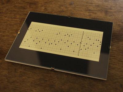 "Music Box Punch Card Fragment ""Sneeuwland"" main photo"