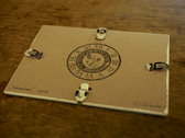 "Music Box Punch Card Fragment ""Sneeuwland"" photo"