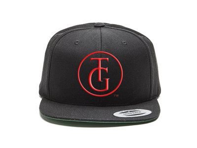 Black and Red (The Group) Embroidered TG Snapback main photo
