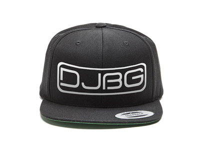 Black and Silver Embroidered DJBG Snapback main photo