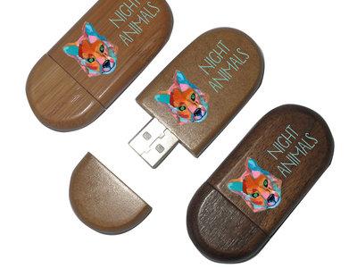 Wooden USB Drive main photo