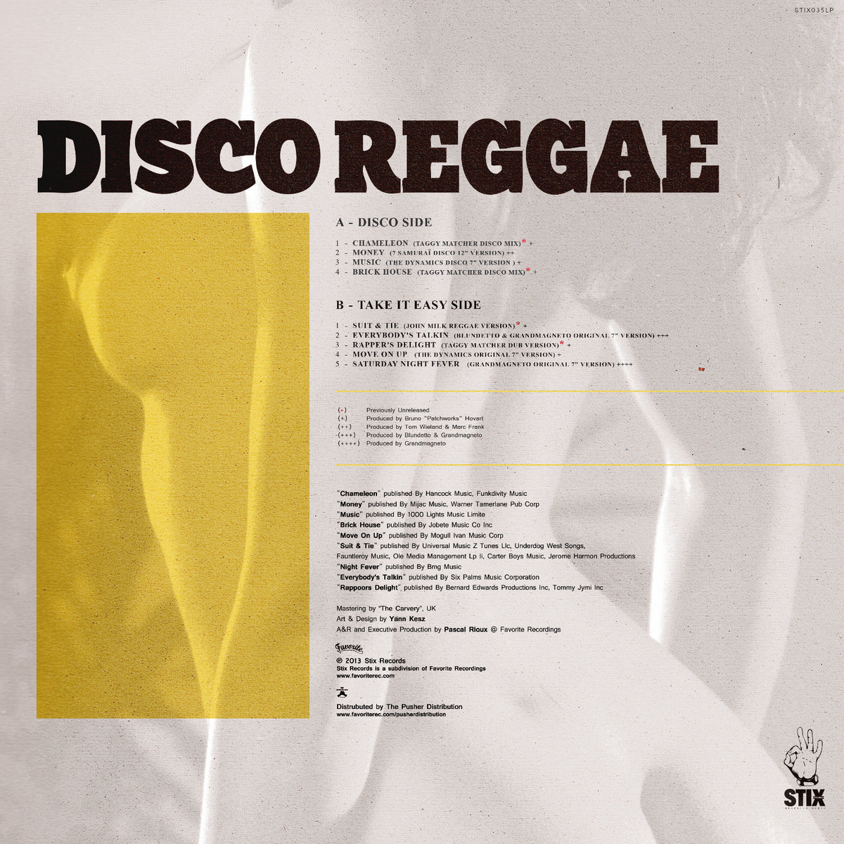 Disco Reggae | Favorite Recordings