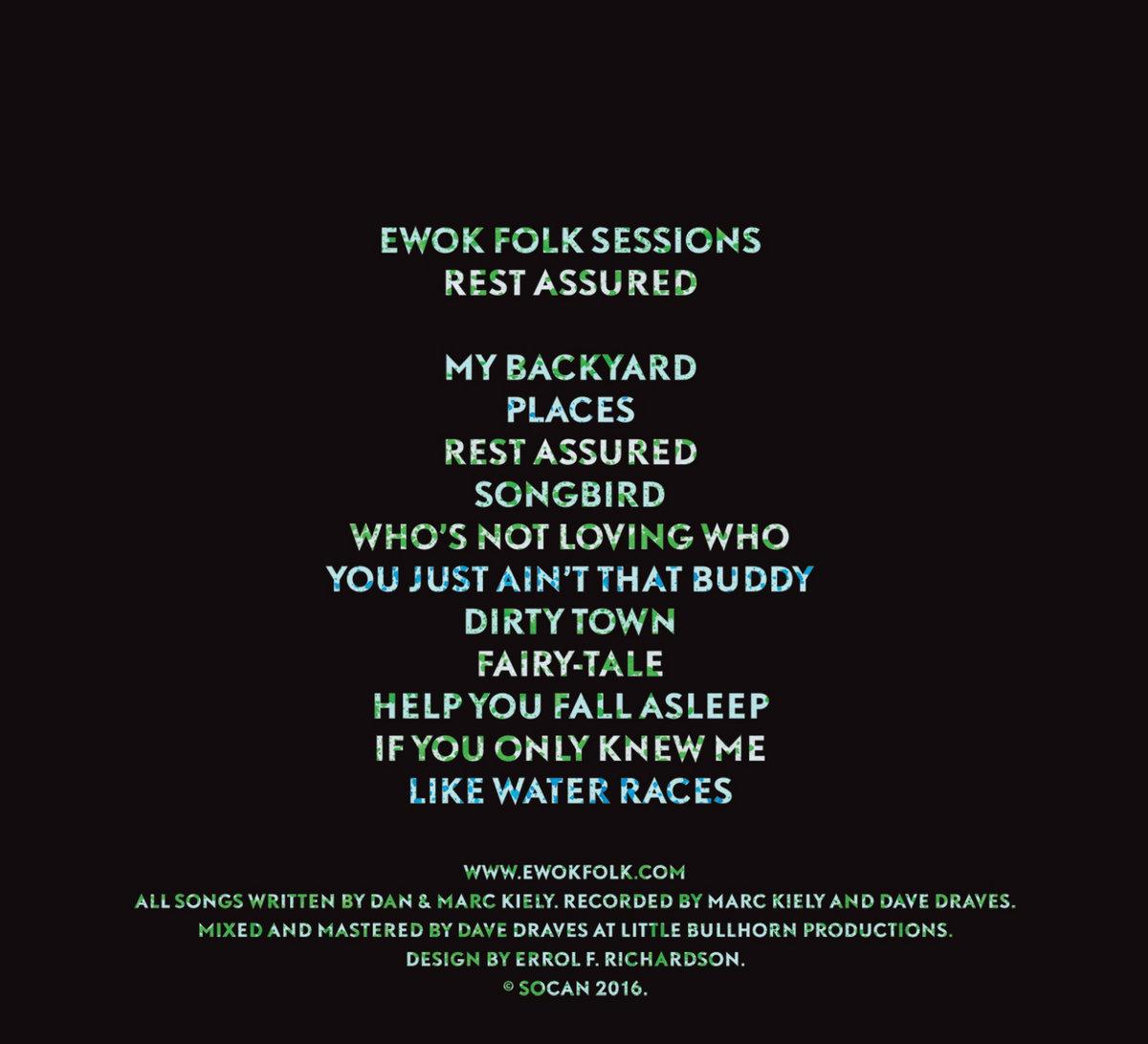 rest assured ewok folk sessions