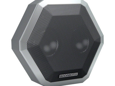 "Boombotix ""Pro"" Bluetooth speaker with ""And Then.."" album embedded main photo"