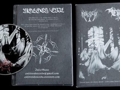 Moloch / Evil split CD main photo