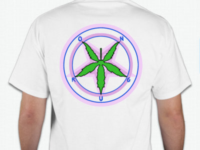 On Drugs Pentagram Weed Shirt main photo