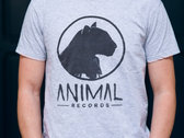 Animal Records T-Shirt (Black/Noir , Grey/Gris , White/Blanc) photo