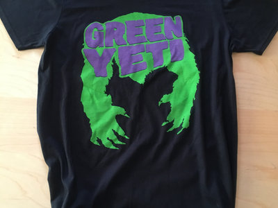 Green Yeti BLK T-Shirt main photo