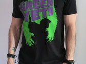 Green Yeti BLK T-Shirt photo