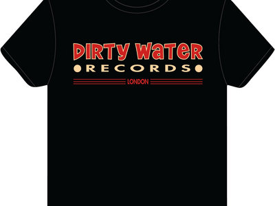 The classic Dirty Water Records t-shirt main photo