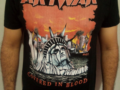 """Covered In Blood T-Shirt (large size only)  """"shipping included"""" main photo"""
