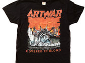 """Covered In Blood T-Shirt (large size only)  """"shipping included"""" photo"""