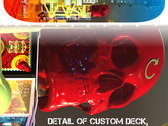 Custom Plague of Smiles Skateboard Deck photo