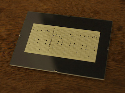 "Music Box Punch Card Fragment ""Dinan"" II main photo"