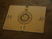 "Music Box Punch Card Fragment ""Dinan"" II photo"