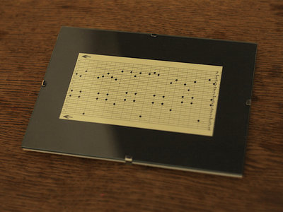 "Music Box Punch Card Fragment ""Dinan"" III main photo"