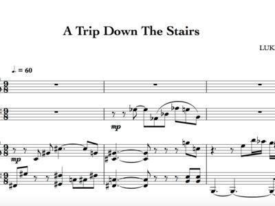 A Trip Down The Stairs - Full Score main photo