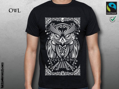 Owl-Shirt - fairtrade main photo