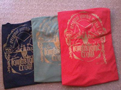 Tombstone Crow 'Original Geordie Metal' shirts in Green main photo