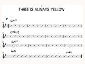 Three Is Always Yellow photo