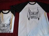 Primeval Mass T-shirt (Black/white) photo