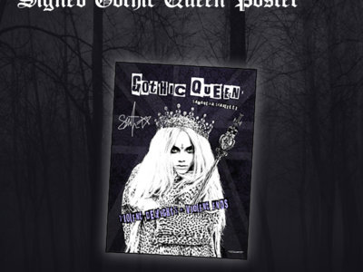 *SIGNED* Gothic Queen [POSTER] main photo