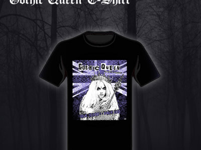 Gothic Queen T-shirt main photo