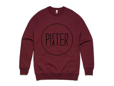 SALE - Pieater Sweater - Burgundy main photo