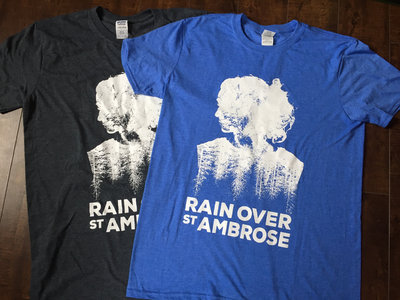 Rain Over St. Ambrose Still Waking Up TEE (Royal Blue ONE LEFT // Grey SOLD OUT) main photo