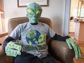 Sad Alien T-Shirt photo