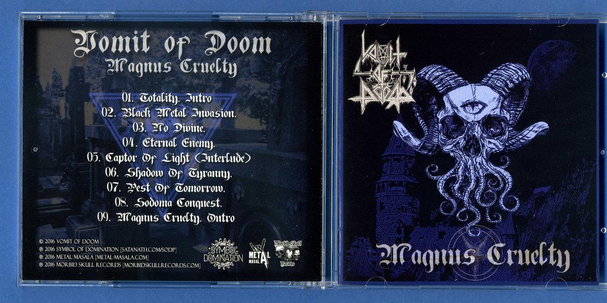 Sodp081 Vomit Of Doom Magnus Cruelty Ep 2016 Symbol Of