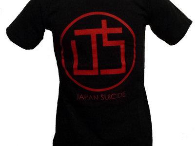 """Japan Suicide """"LOGO"""" Black T-Shirt main photo"""