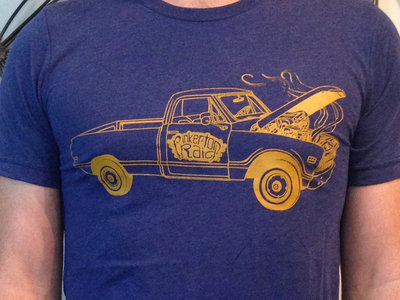 Old Truck t-shirt w/free download main photo