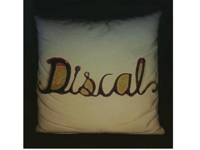 DiscaL Glass Logo Cushion main photo