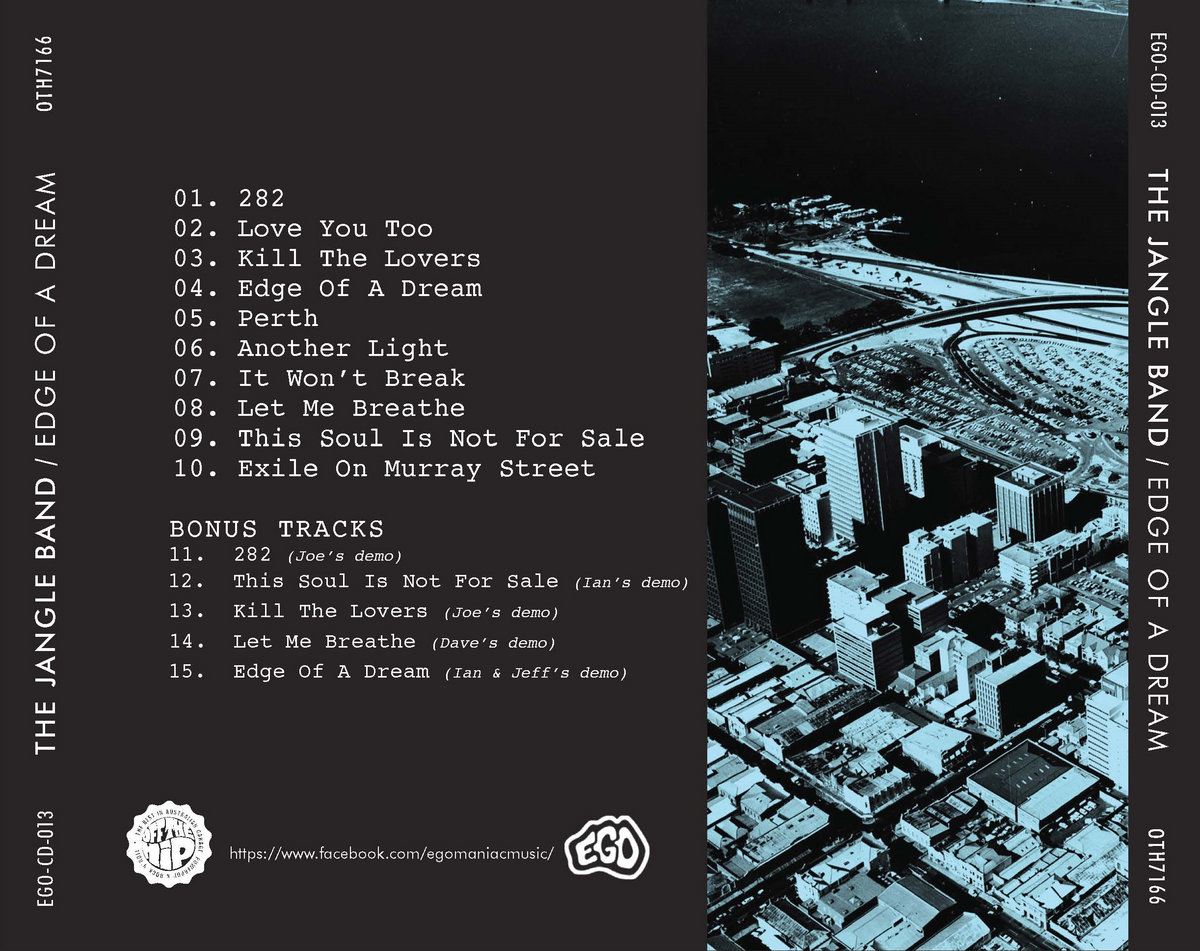 Edge of a dream egomaniac music deluxe cd version with 5 bonus tracks malvernweather Images