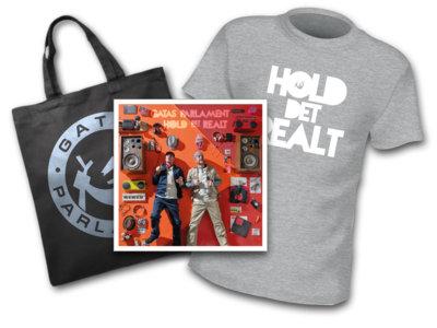 Hold Det Realt (album) / t-skjorte, canvasbag main photo