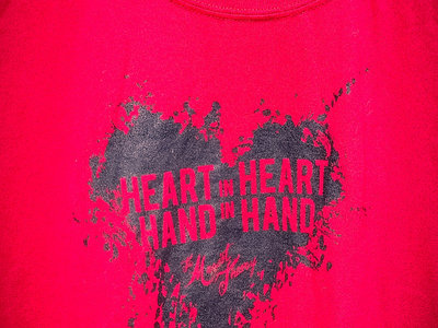 HEART T-shirt - MEN's size LARGE only - Clearance! main photo