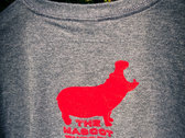 HIPPO T-shirt - MEN'S sizes MEDIUM and LARGE - Clearance! photo
