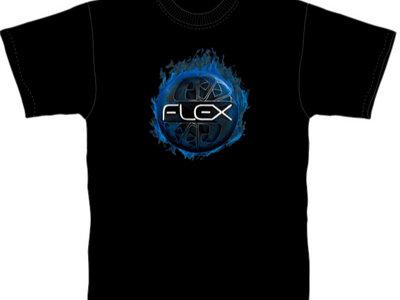 Flex - Blue Flame T - Shirt main photo