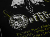 Dungeon Scum Record Release Screen Print photo