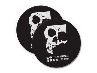 Samurai Skull Slipmats main photo