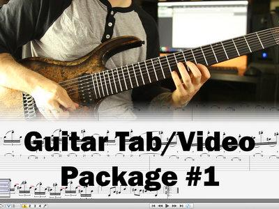 Guitar Tab/Video Package #1 main photo