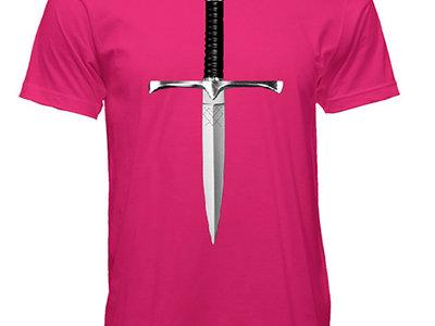Hot Pink Dagger Shirt main photo