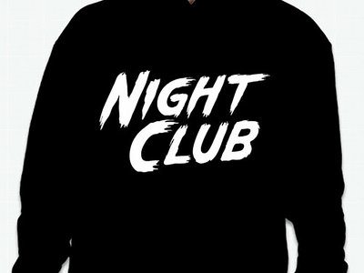 Night Club black hoodie main photo