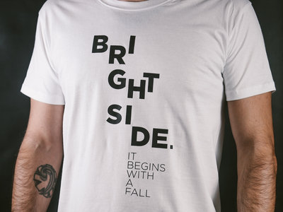 The Lettering T-Shirt (Male, White) main photo